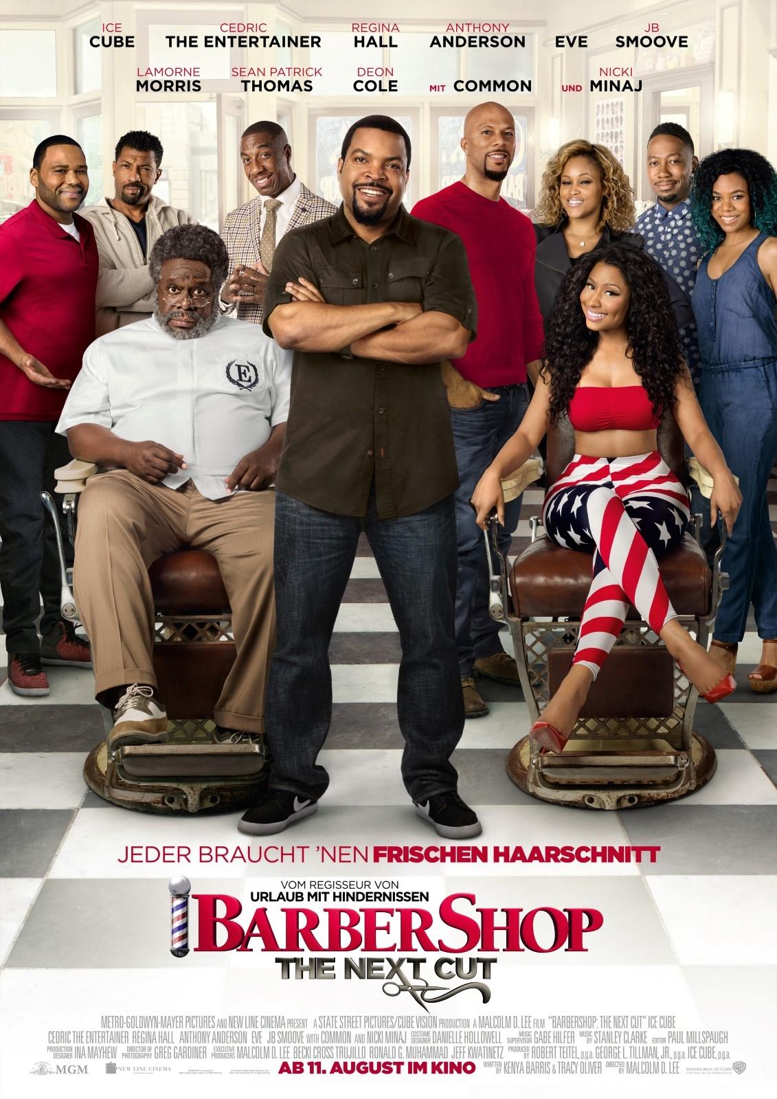 Barbershop: The Next Cut (Poster)