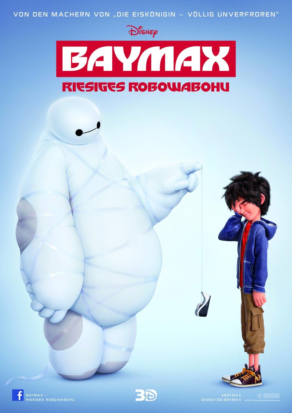 Baymax - Riesiges Robowabohu (Poster)