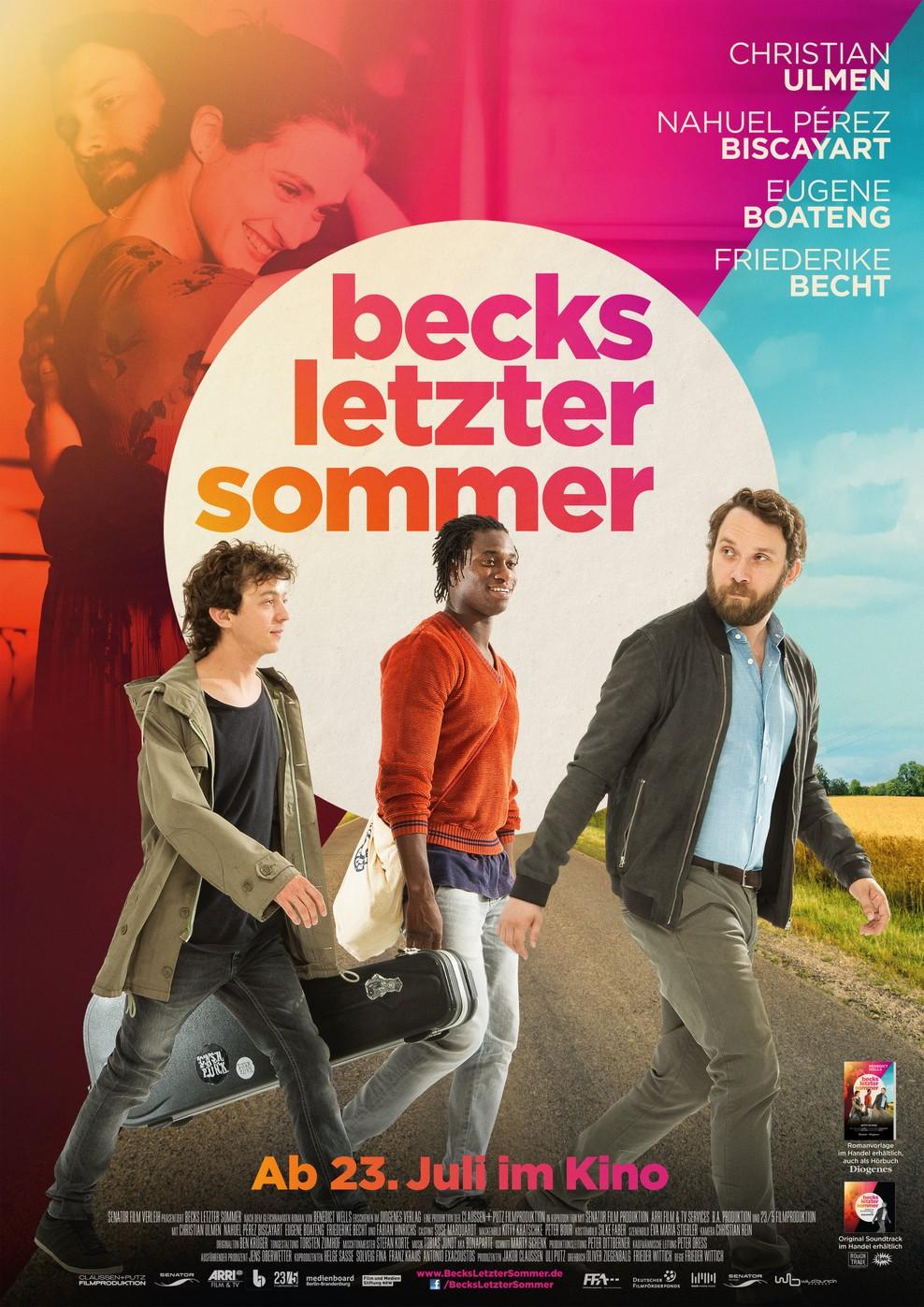 Becks letzter Sommer (Poster)