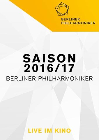 Berliner Philharmoniker 2016/17: Kirill Petrenko dirigiert Mozart & Tschaikowsky (Poster)