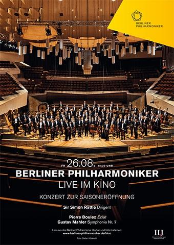Berliner Philharmoniker 2016/17: Saisoneröffnung mit Sir Simon Rattle (Poster)