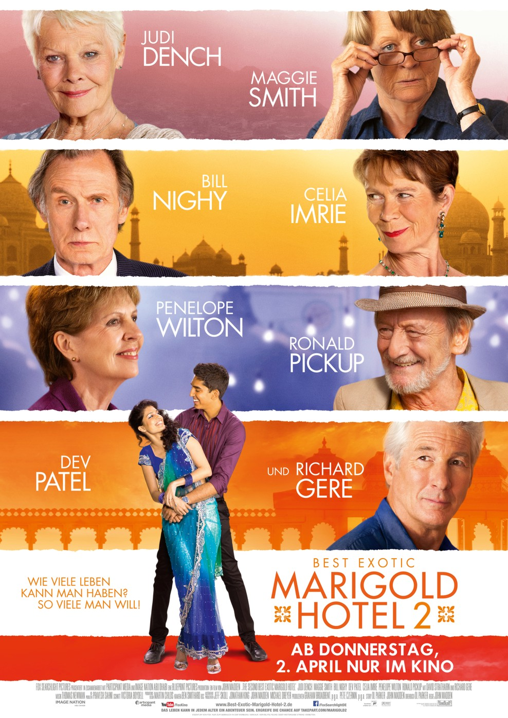Best Exotic Marigold Hotel 2 (Poster)