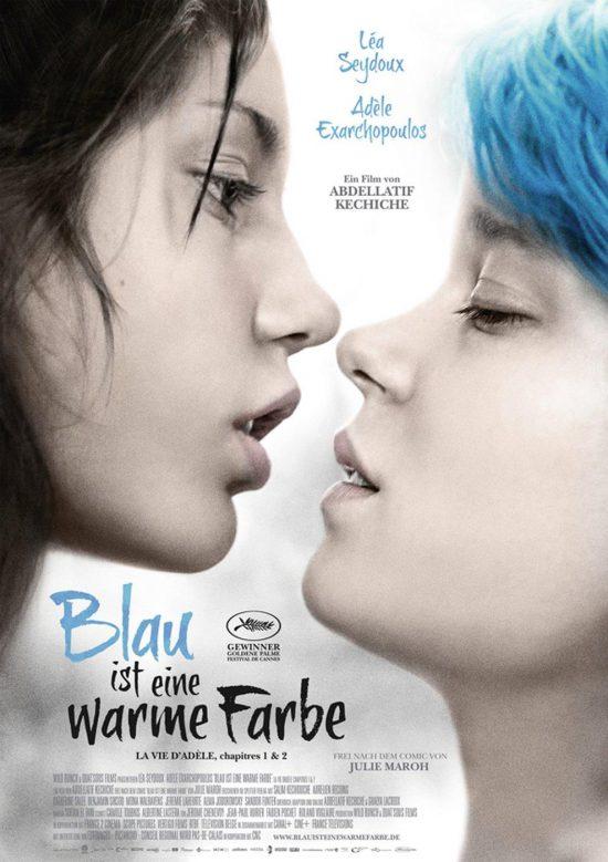 Blau ist eine warme Farbe (Poster)