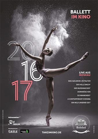 Bolshoi Ballett 2016/17: Schwanensee (Poster)