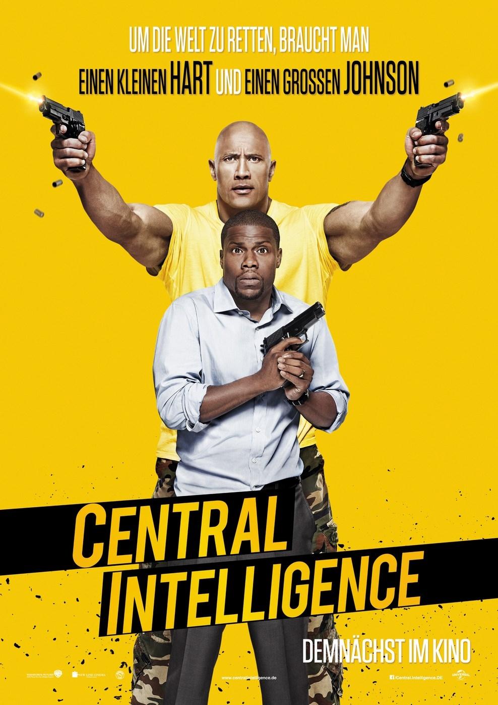 Central Intelligence (Poster)