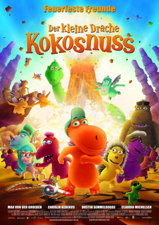 Der Kleine Drache Kokosnuss (Poster)