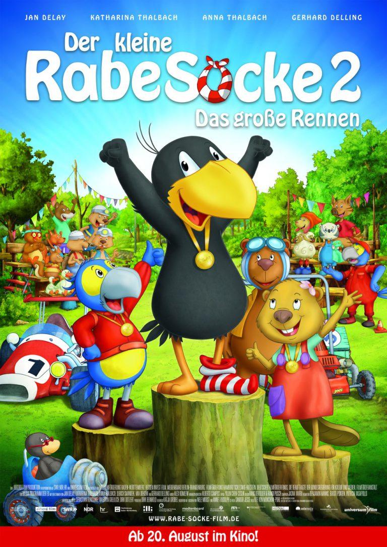 Der kleine Rabe Socke 2 - Das große Rennen (Poster)