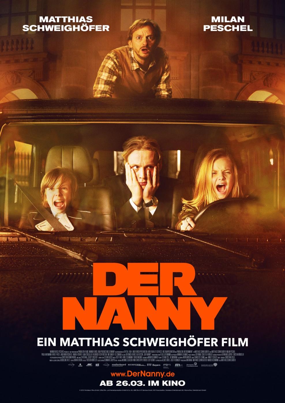 Der Nanny (Poster)