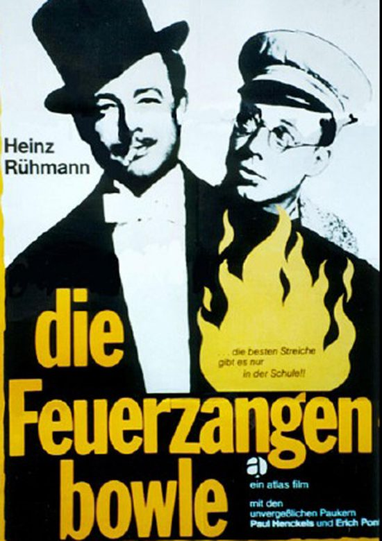 Die Feuerzangenbowle (Poster)