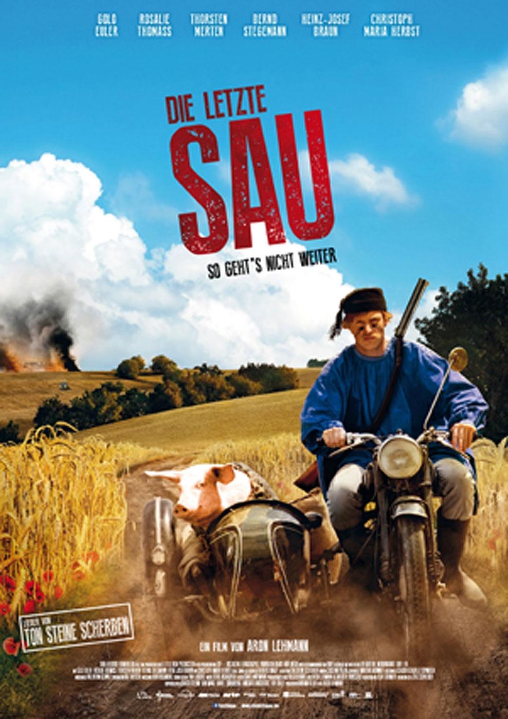 Die letzte Sau (Poster)