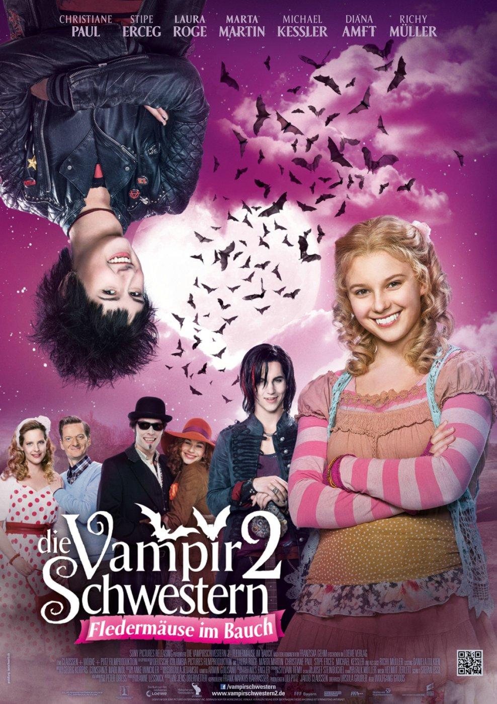 Die Vampirschwestern 2 - Fledermäuse im Bauch (Poster)