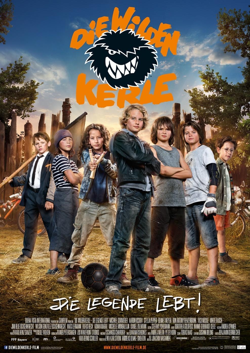 Die wilden Kerle - Die Legende lebt (Poster)