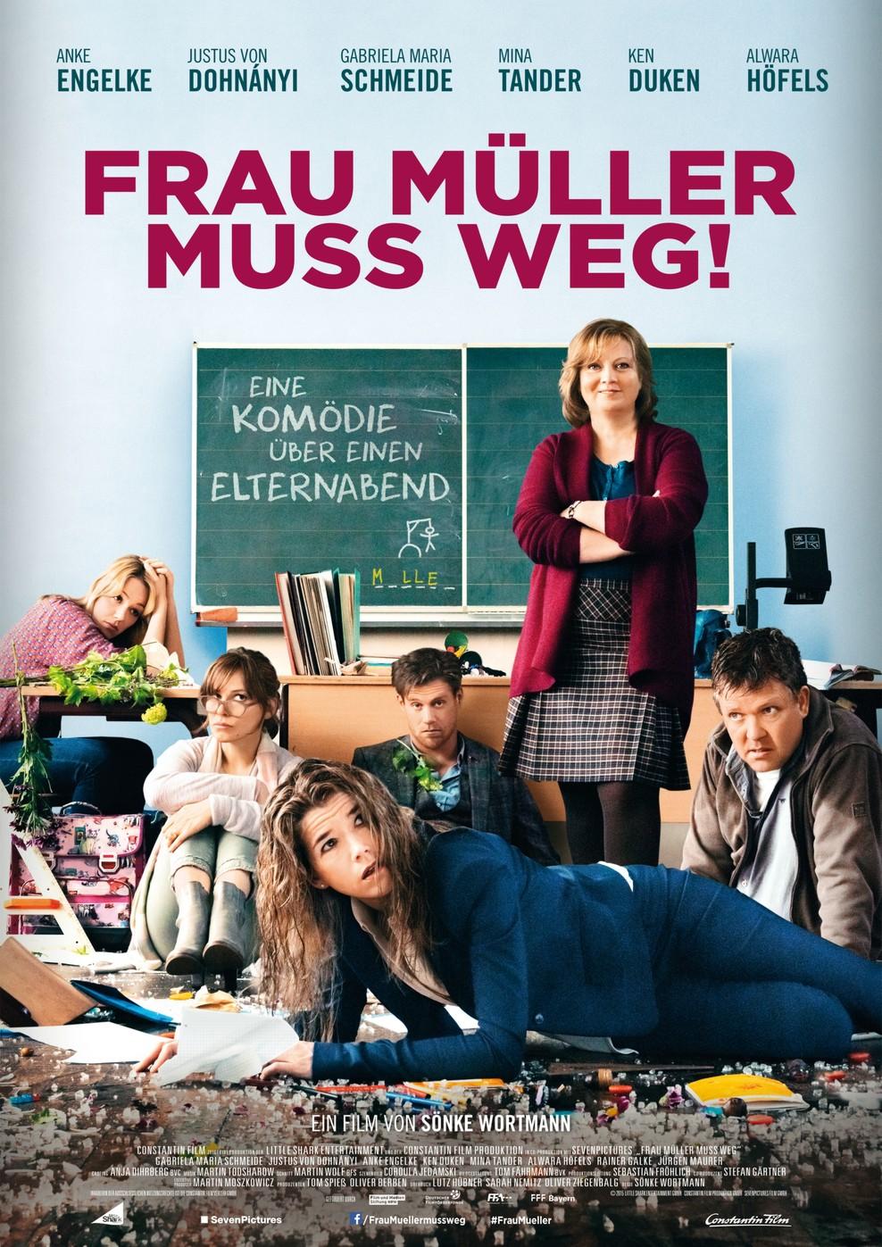 Frau Müller muss weg (Poster)