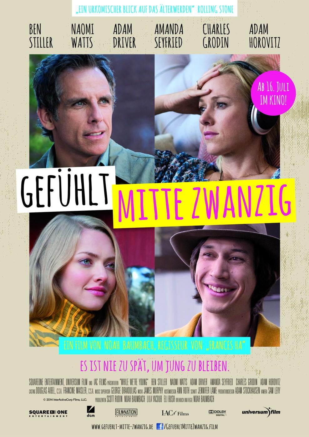 Gefühlt Mitte Zwanzig (Poster)