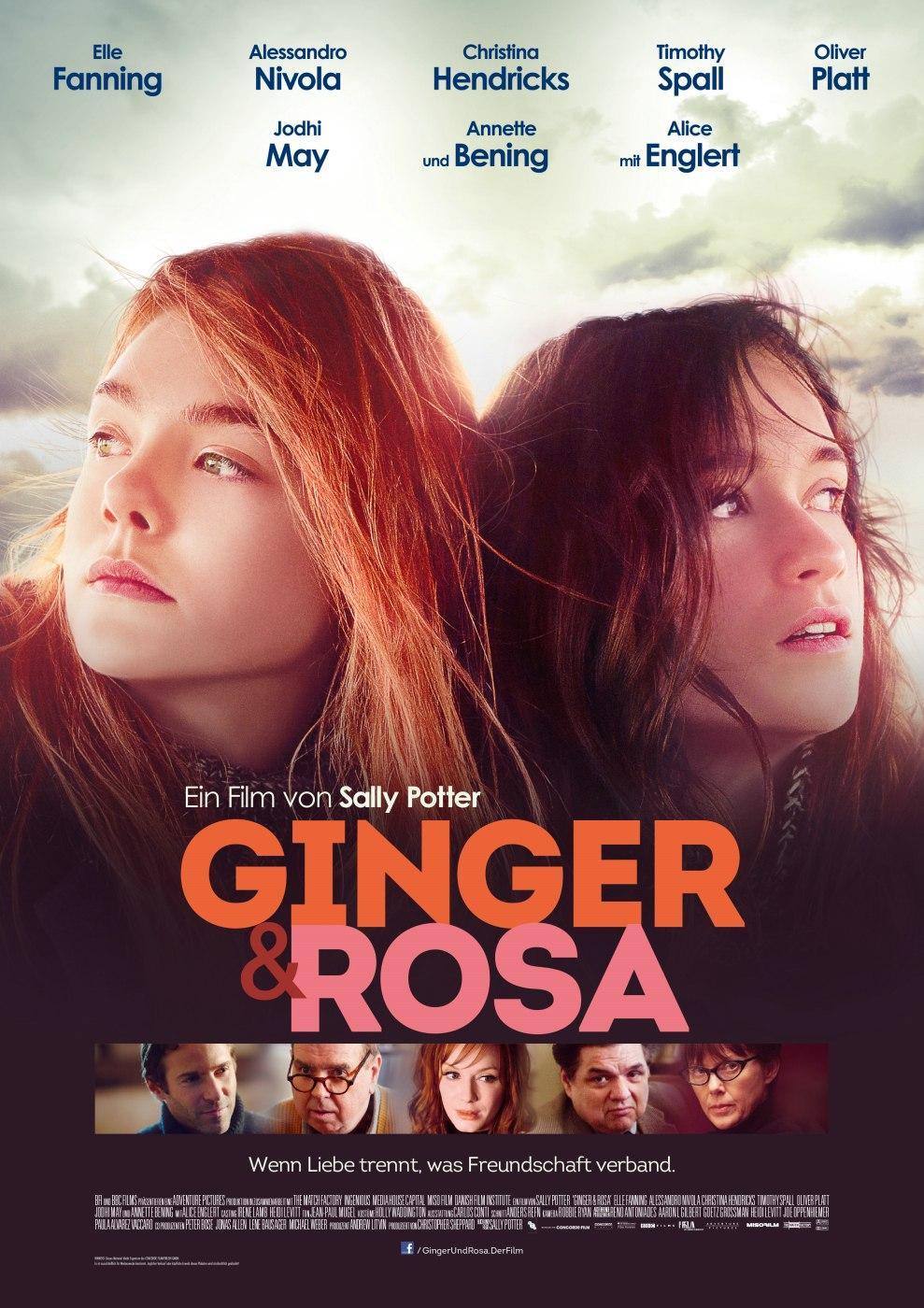 Ginger & Rosa (Poster)