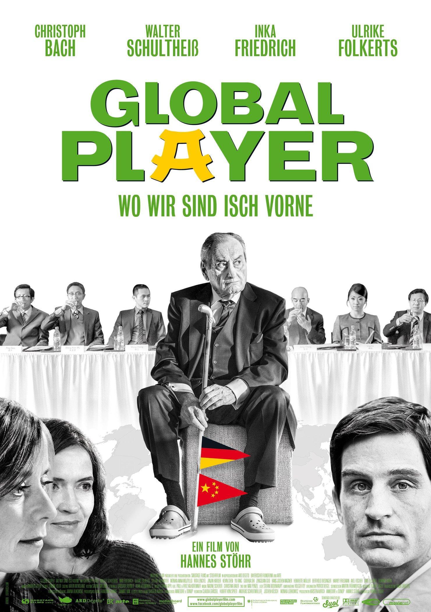 Global Player - Wo wir sind isch vorne (Poster)