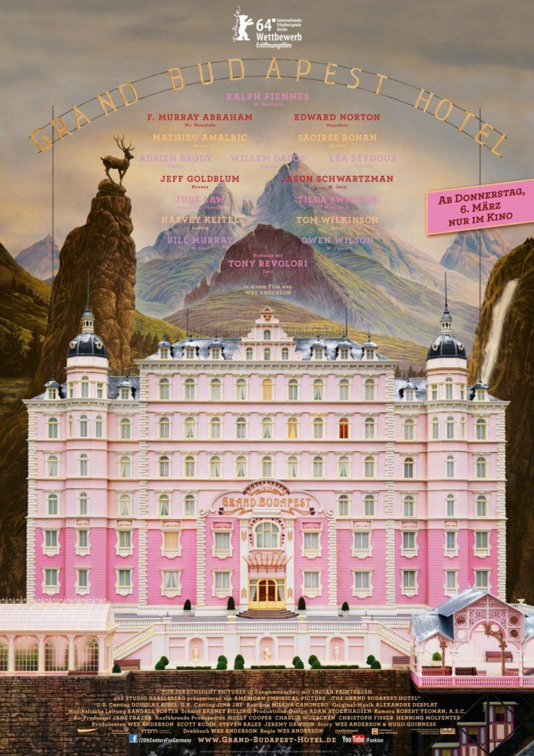 Grand Budapest Hotel (Poster)
