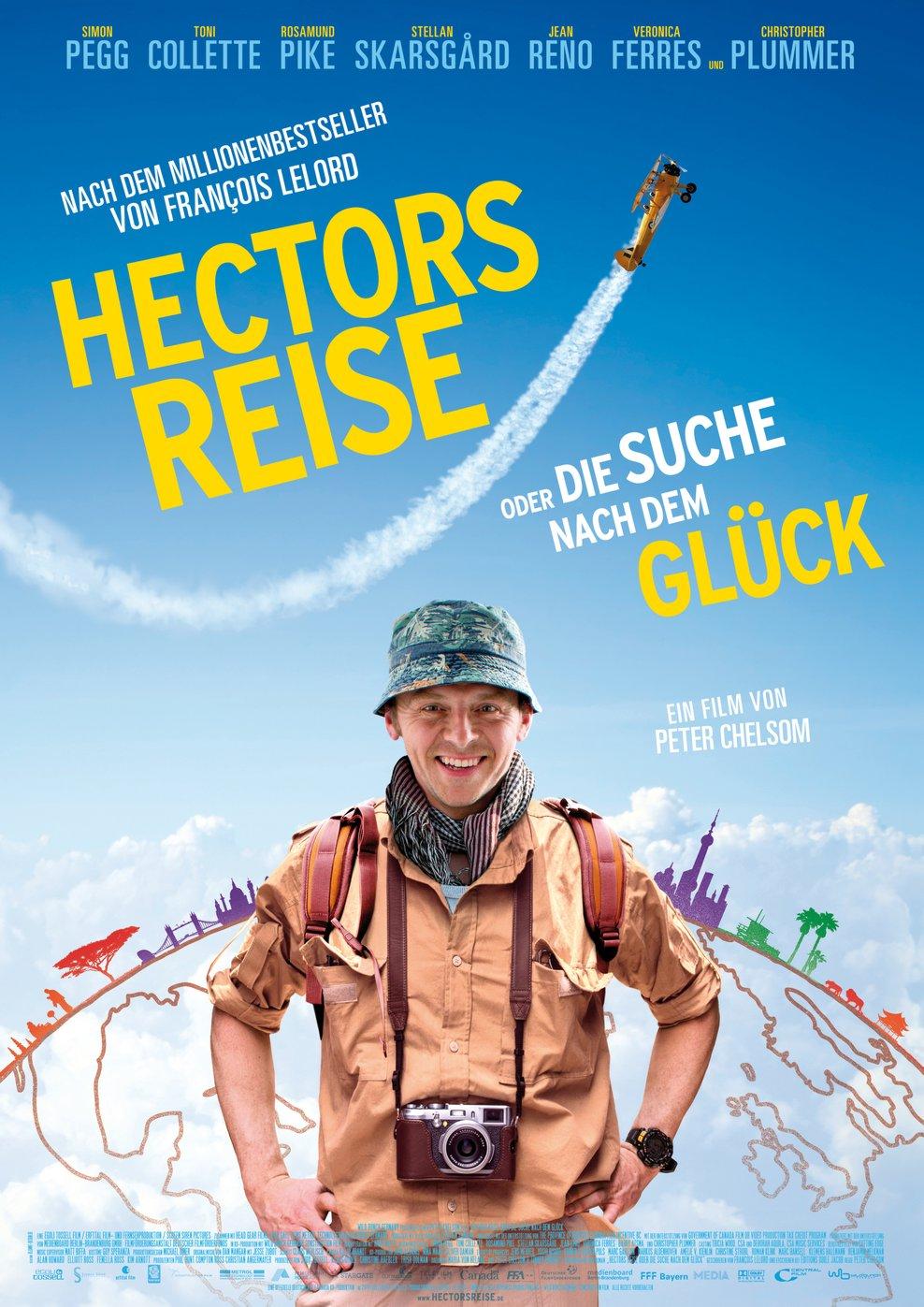 Hectors Reise oder Die Suche nach dem Glück (Poster)