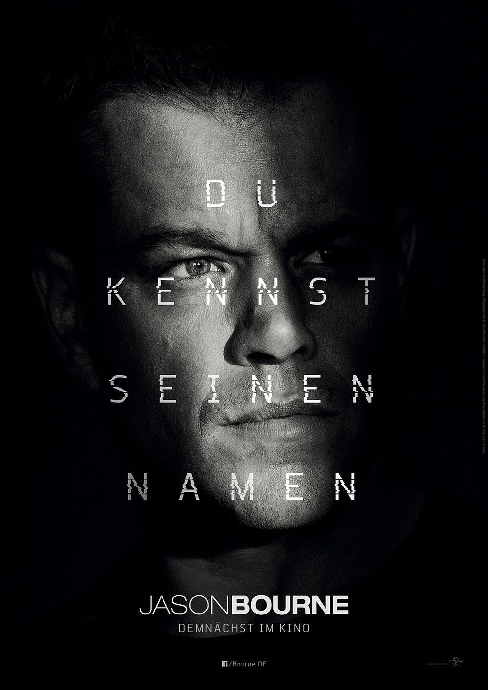 Jason Bourne (Poster)