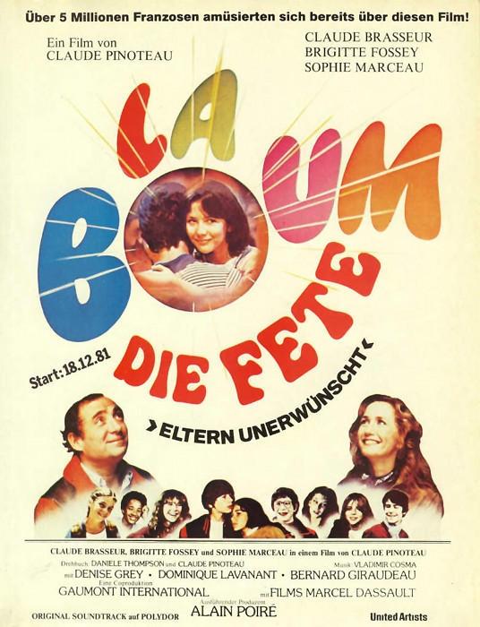 La Boum - Die Fete (Poster)