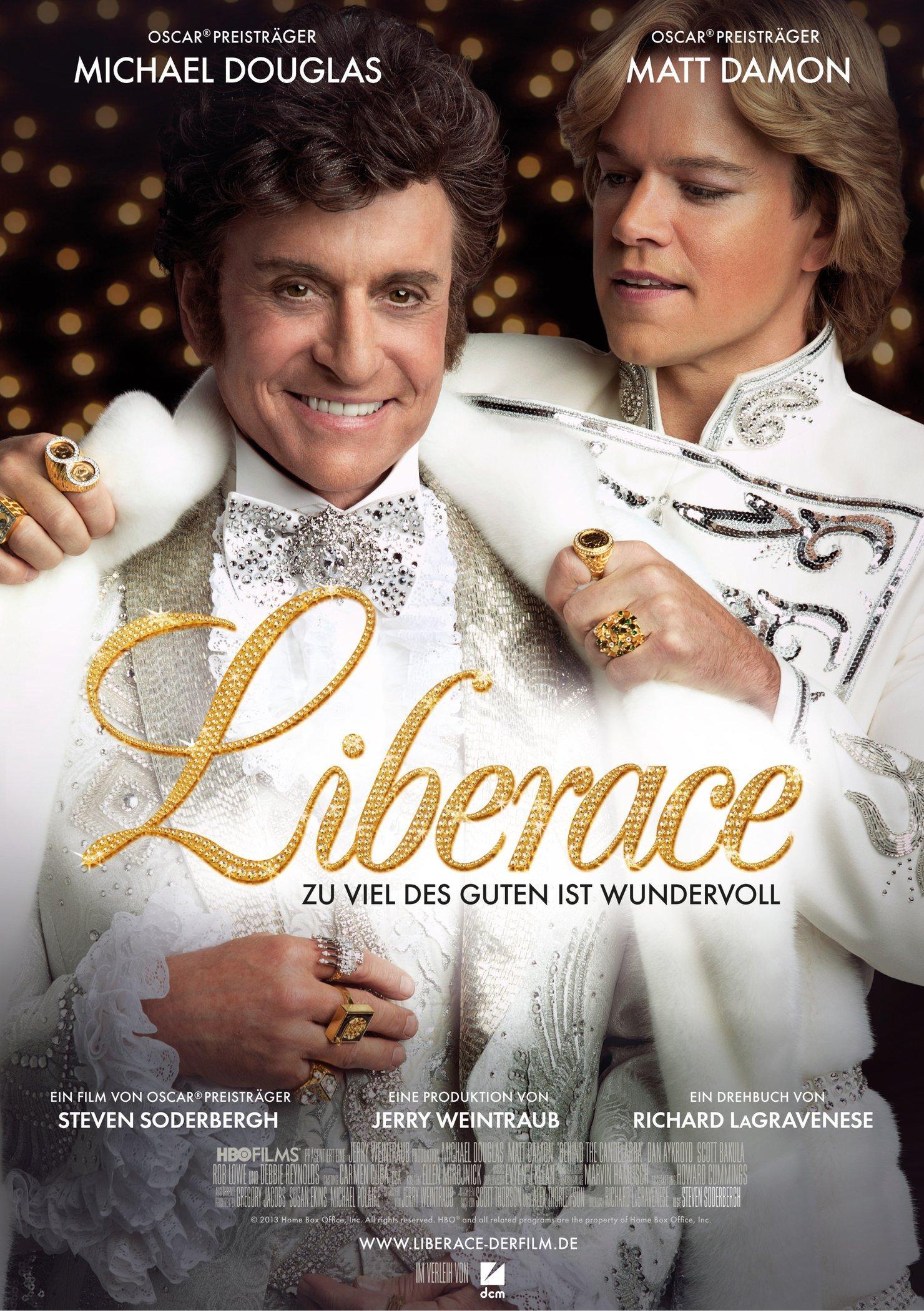 Liberace - Zu viel des Guten ist wundervoll (Poster)