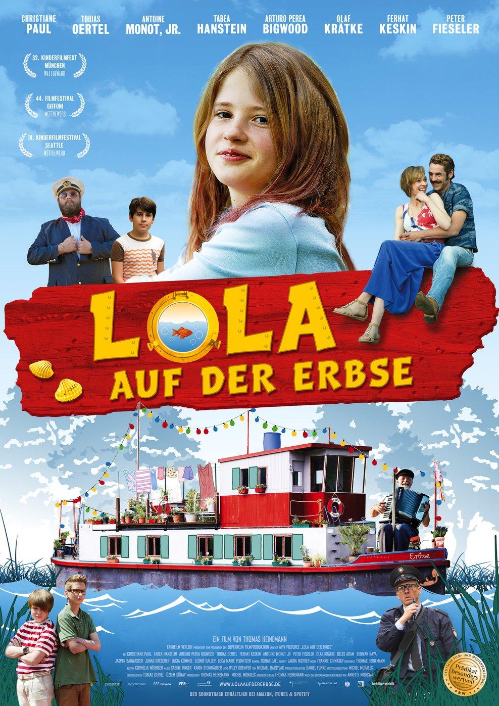 Lola auf der Erbse (Poster)