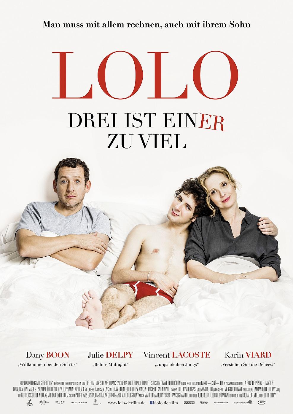 Lolo - Drei ist einer zu viel (Poster)