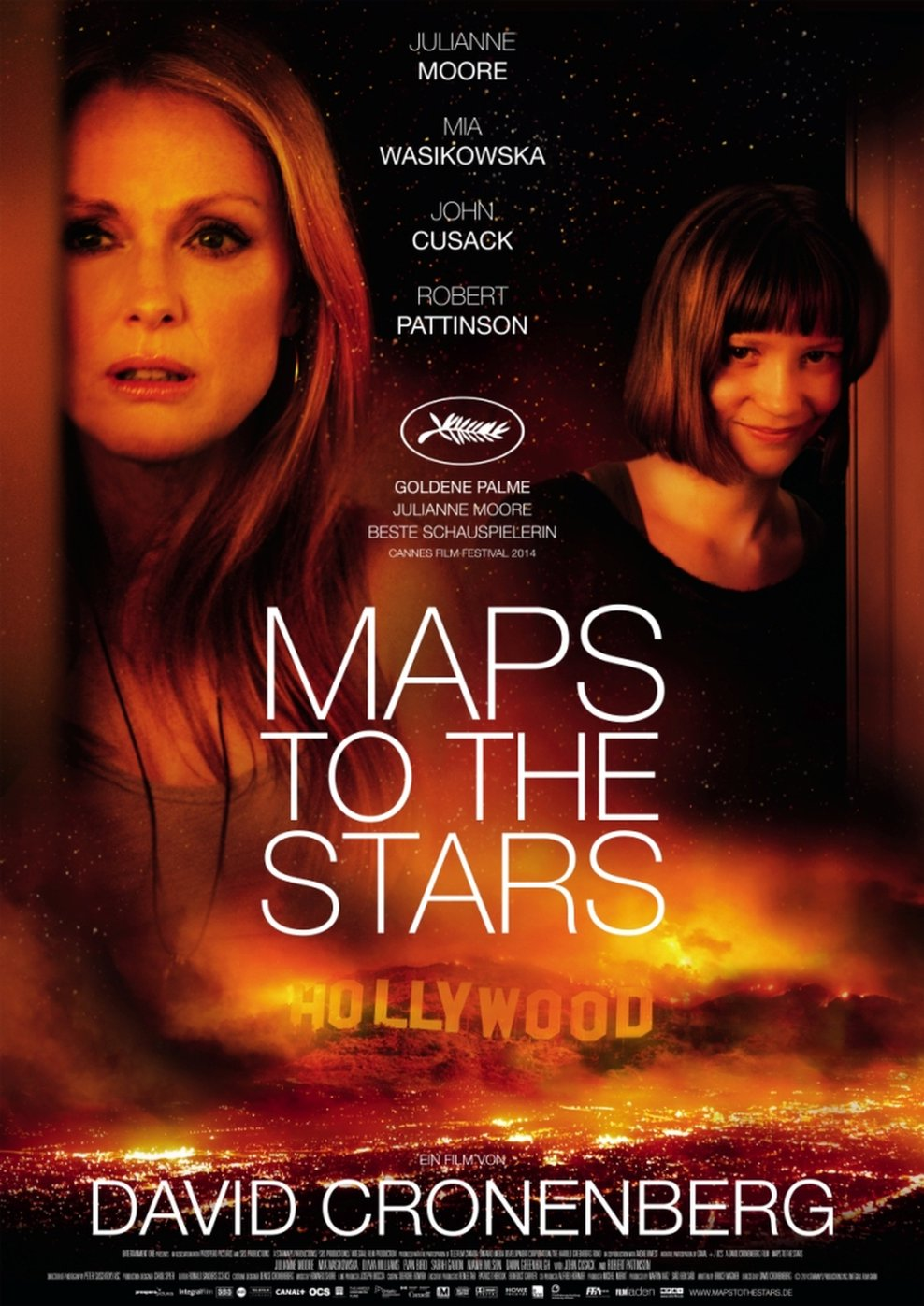 Maps to the Stars (Poster)