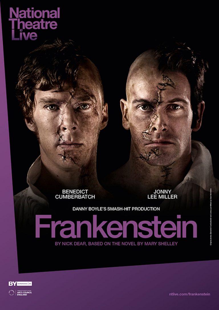 National Theater London: Frankenstein (Cumberbatch) (Poster)