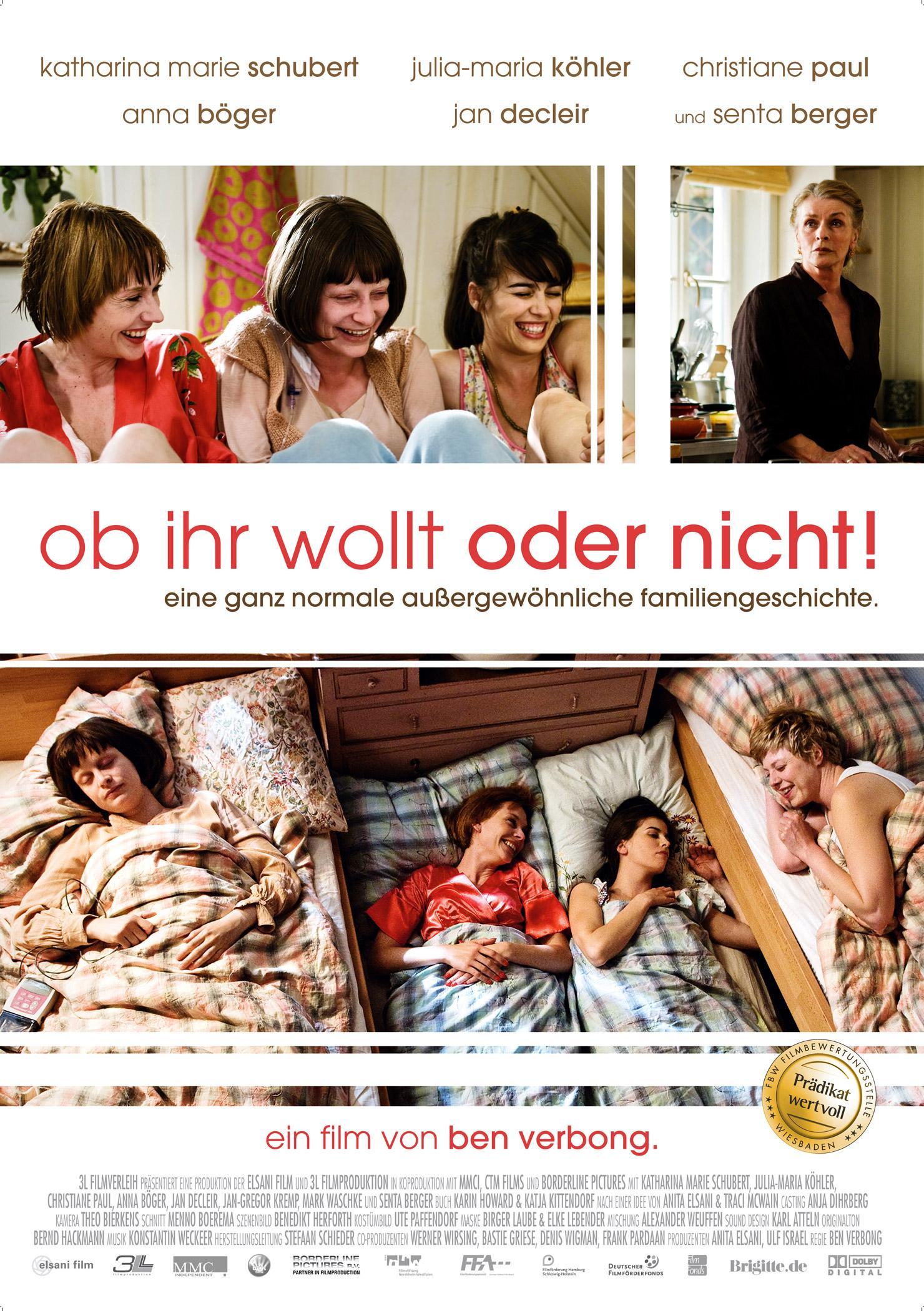 Ob ihr wollt oder nicht! (Poster)