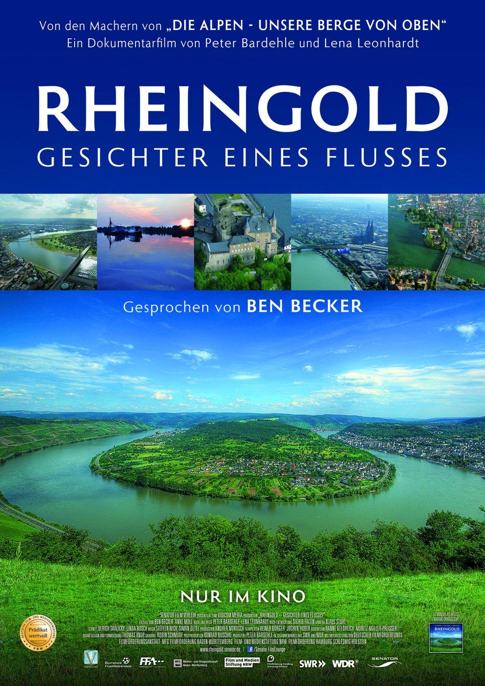 Rheingold - Gesichter eines Flusses (Poster)