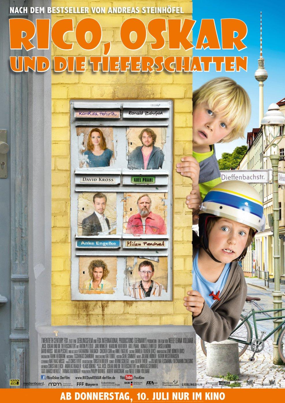 Rico, Oskar und die Tieferschatten (Poster)