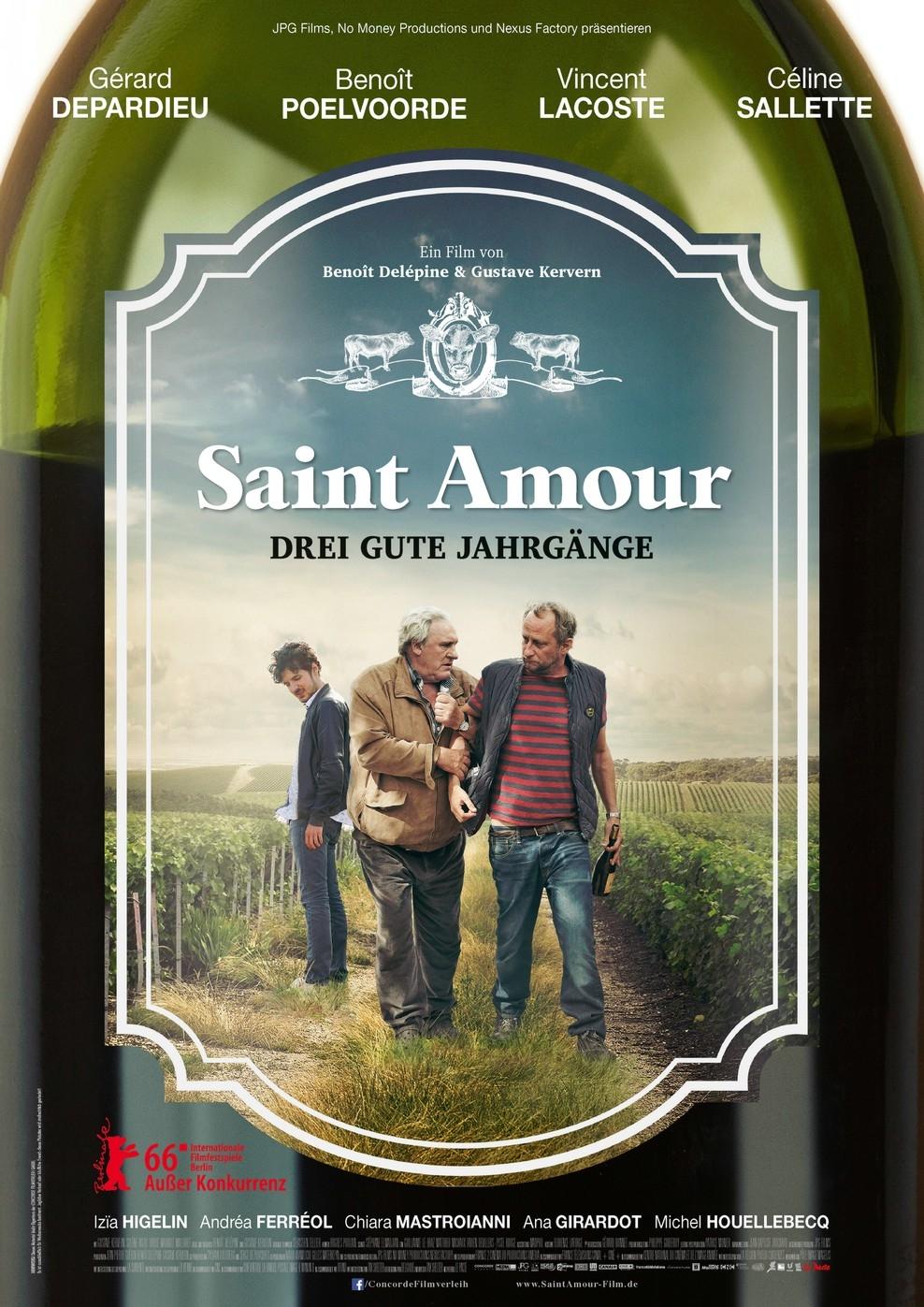 Saint Amour - Drei gute Jahrgänge (Poster)
