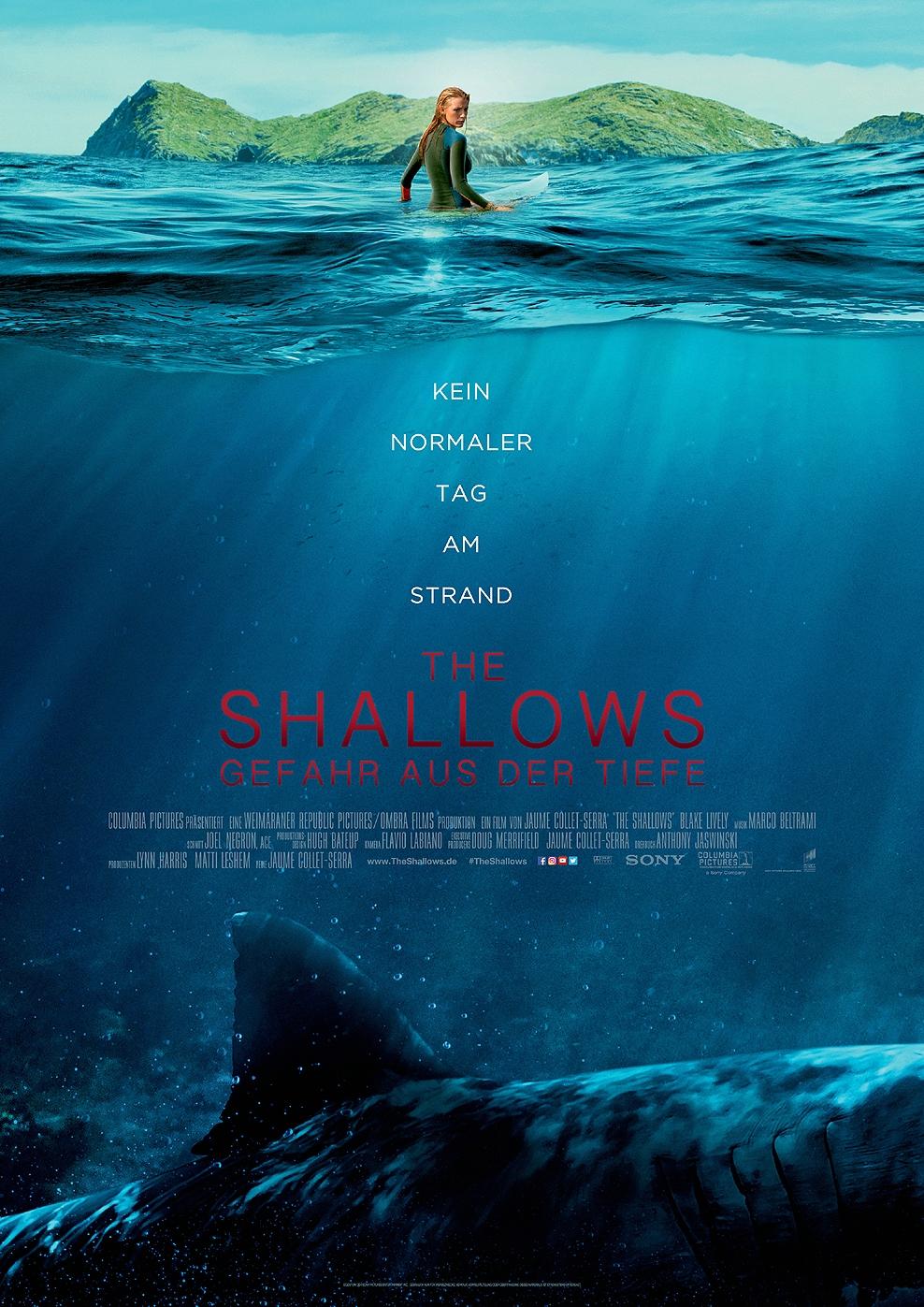 The Shallows - Gefahr aus der Tiefe (Poster)