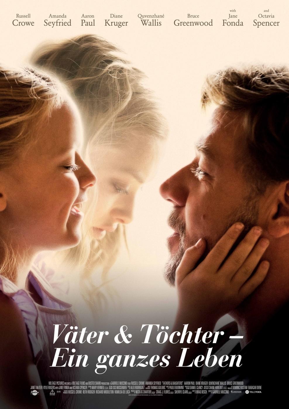 Väter & Töchter - Ein ganzes Leben (Poster)