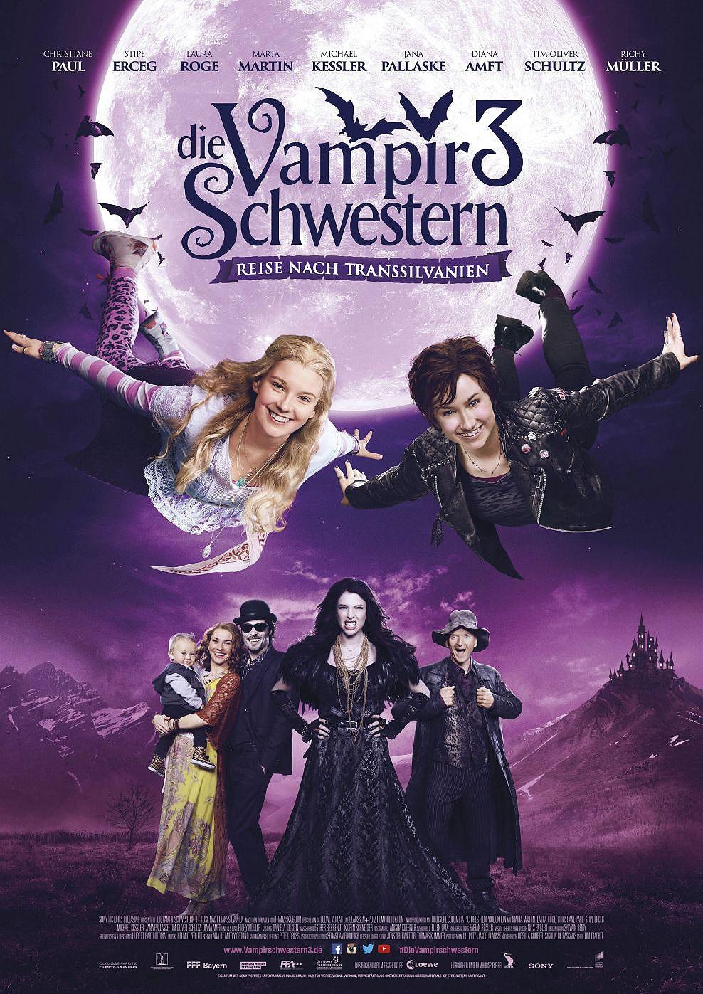 Vampirschwestern 3 - Reise nach Transsilvanien (Poster)