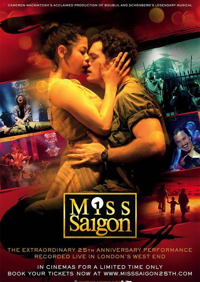 25 Jahre - Miss Saigon (Poster)