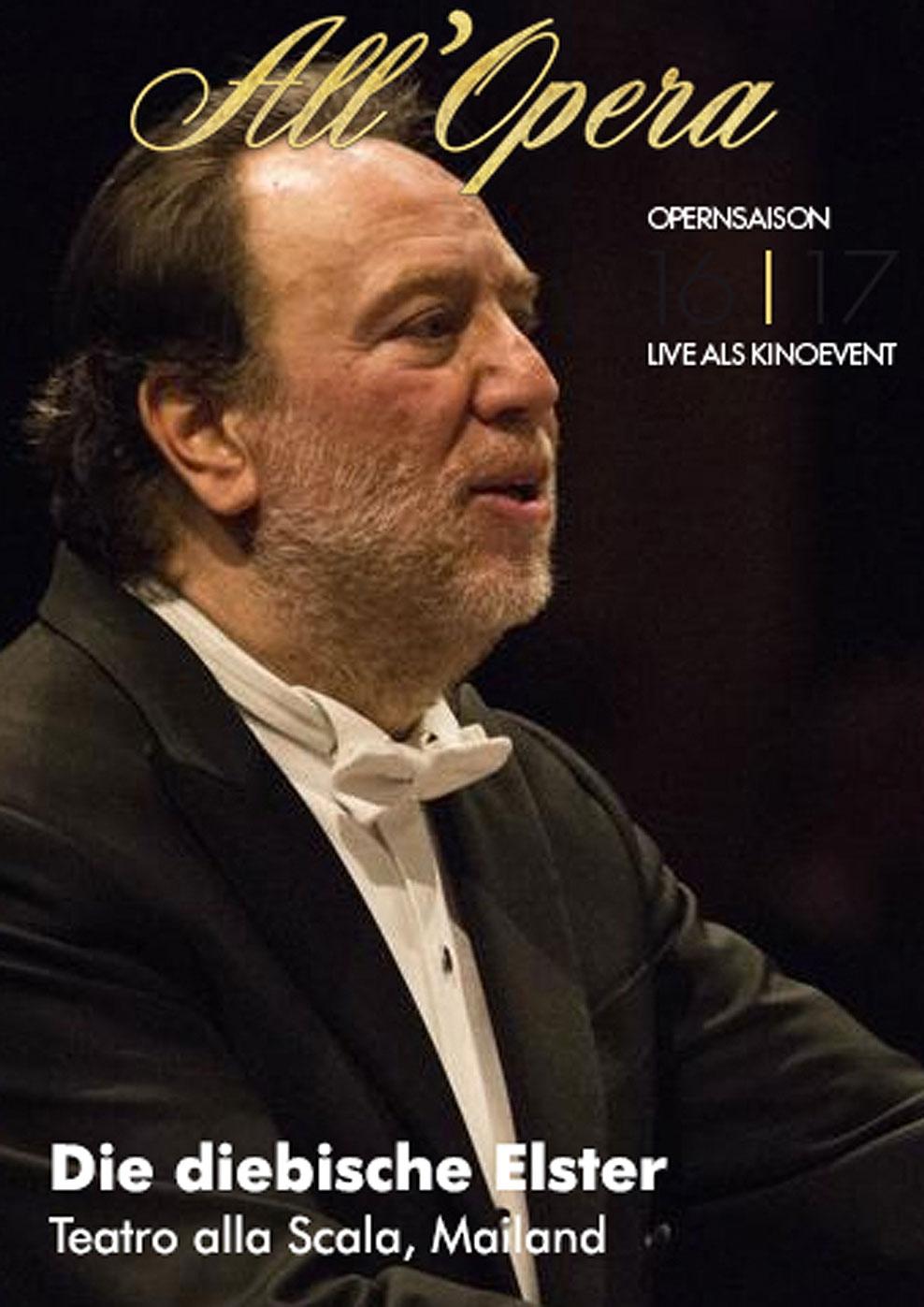 All Opera 16/17: Die diebische Elster (Live) (Poster)