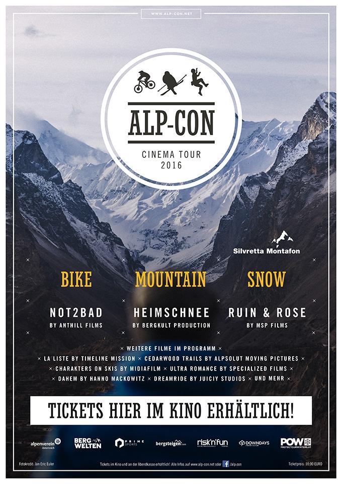 Alp-Con Cinema Tour 2016: MOUNTAIN (Poster)