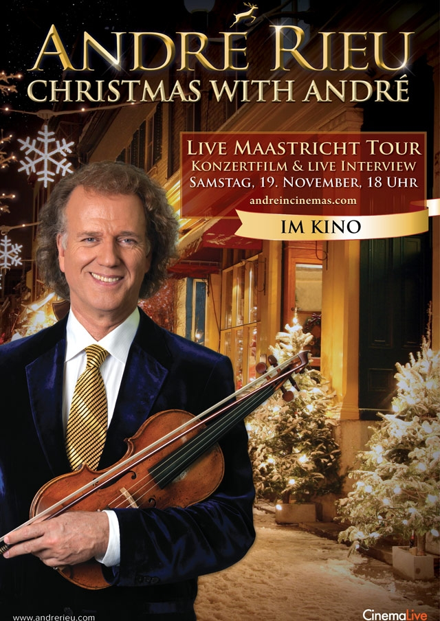 André Rieu - Christmas with André 2016 (Poster)