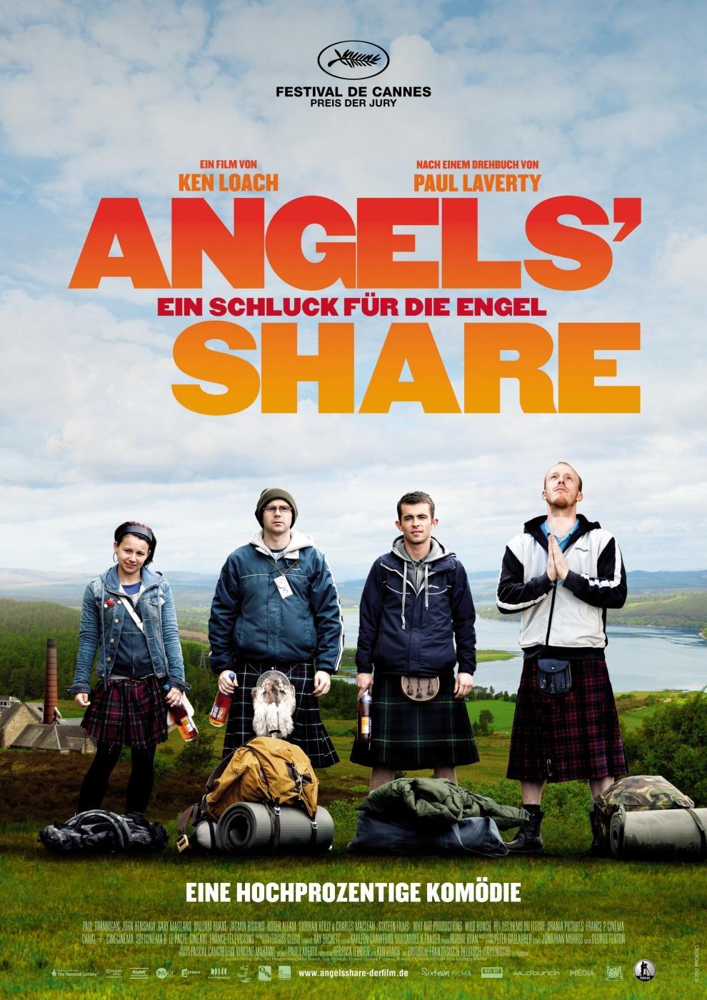 Angels' Share - Ein Schluck für die Engel (Poster)