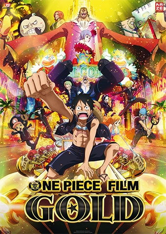 Anime Night: One Piece Gold (Poster)