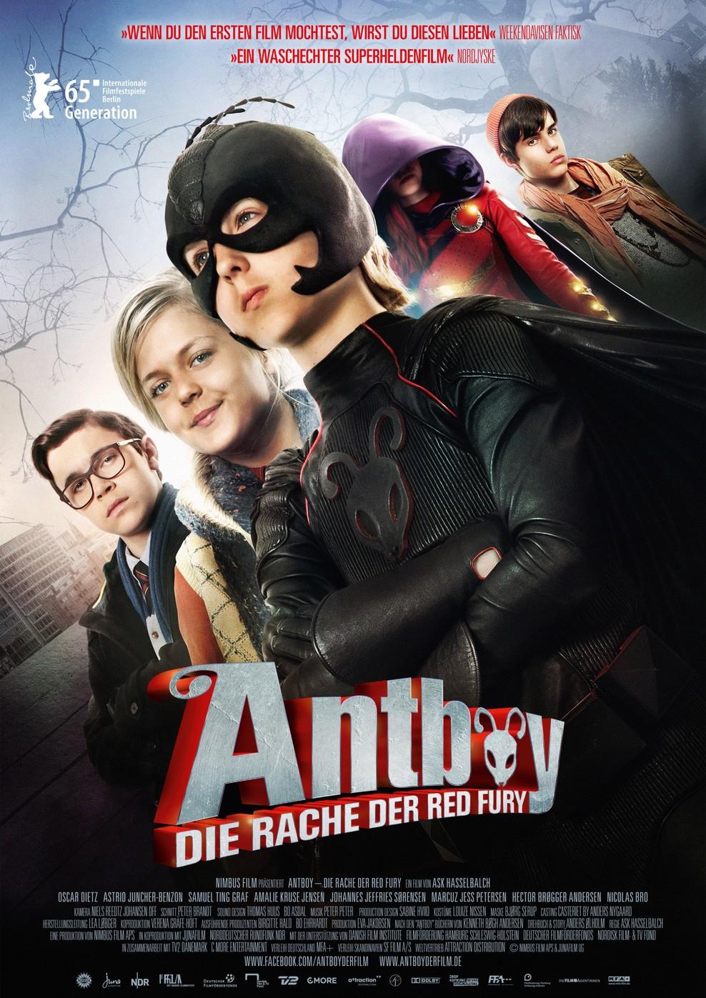 Antboy - Die Rache der Red Fury (Poster)
