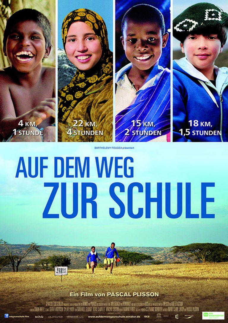 Auf dem Weg zur Schule (Poster)