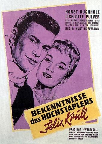 Bekenntnisse des Hochstaplers Felix Krull (Poster)