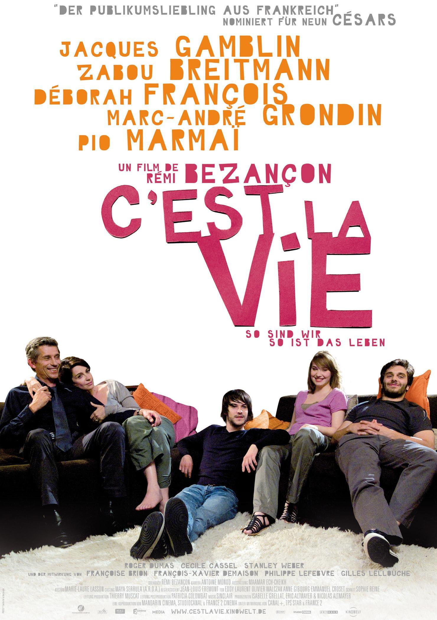 C'est la vie - So sind wir, so ist das Leben (Poster)