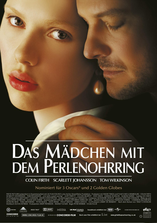 Das Mädchen mit dem Perlenohrring (Poster)