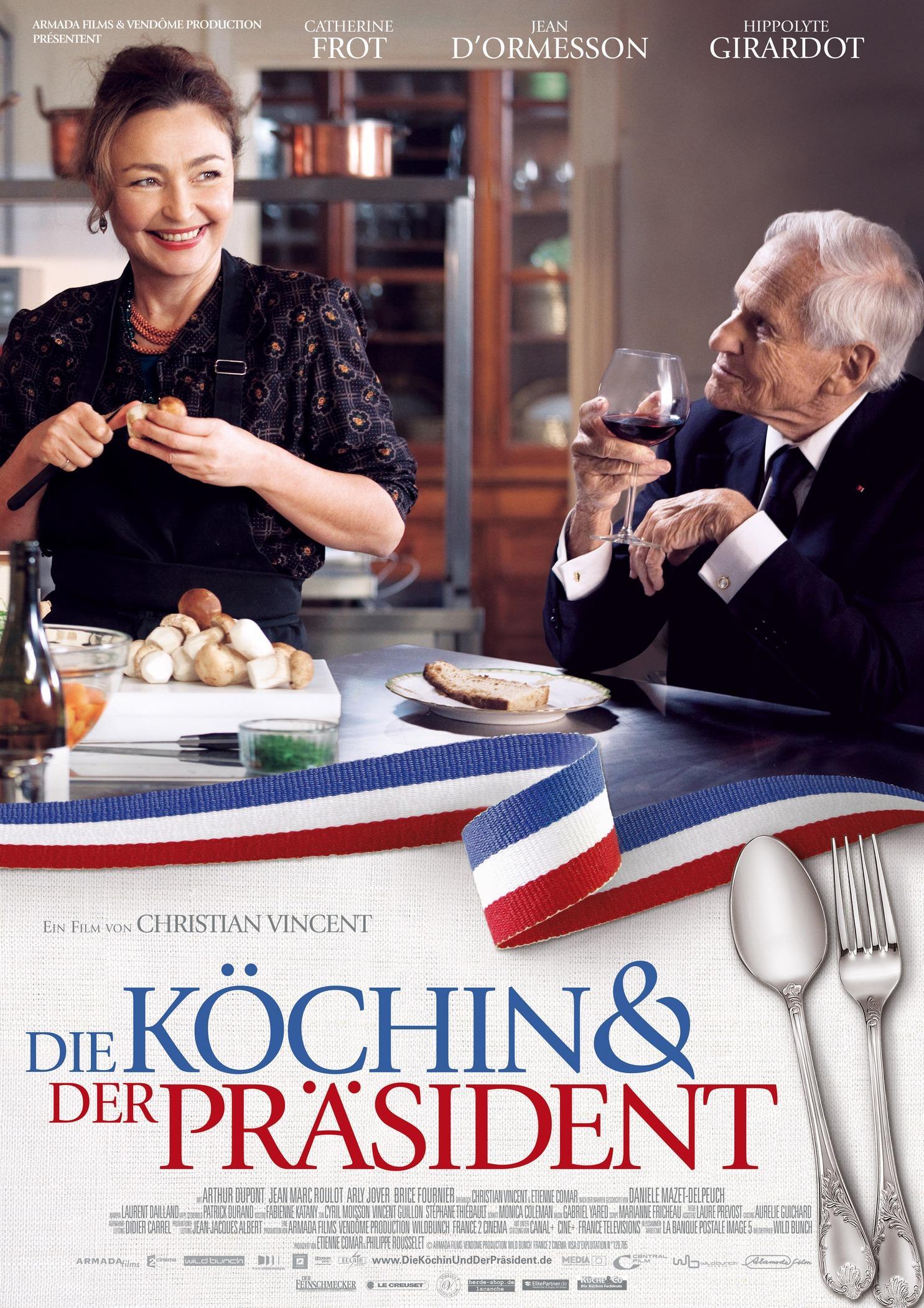 Die Köchin und der Präsident (Poster)