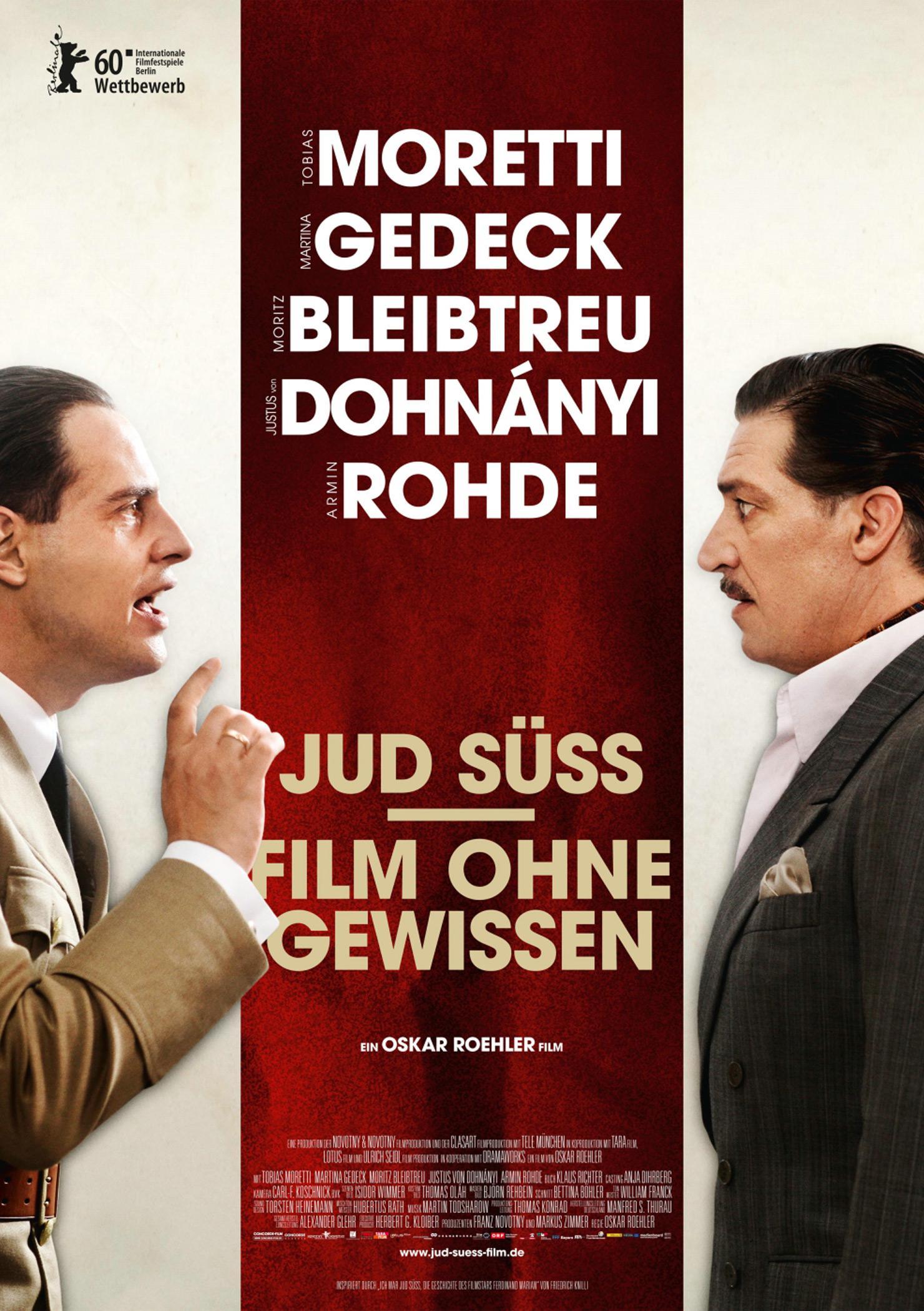 Jud Süß - Film ohne Gewissen (Poster)