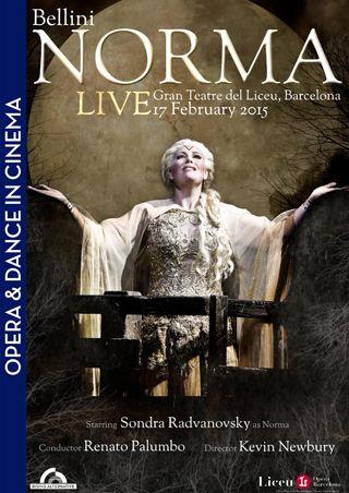 Norma (Bellini) - Live aus Barcelona (Poster)